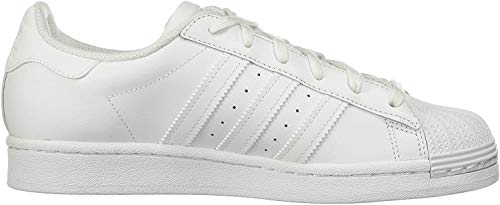 adidas Originals Women's Superstar  White/White/White 5.5