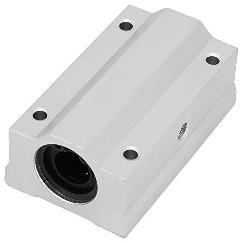 Aluminum Alloy, SCS12UU Aluminum Alloy Linear Motion Bearing Slide Block Corrosion Resistance High Hardness (scs12L uu)
