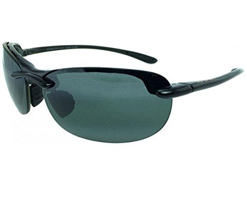 Maui Jim Hanalei 413 Sunglasses Color: Black / Grey Lens Size: - Colors Maui Lense Jim