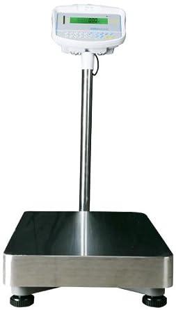Adam Equipment GFK 165 Ah suelo comprobar báscula, 165 LB./75 kg x 0,002 LB./1 G: Amazon.es: Amazon.es