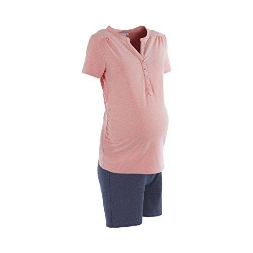 Embarazo os 2 y Mezcla os azul rosados lactancia Pijamas dulces Embarazo Sue a y fAAxtr