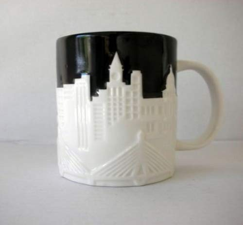 Starbucks Boston Relief Mug From Their City Relief Mug Collector Series, 16 Fl Oz by Starbucks (Image #1)