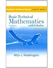 Student Solution's Manual for Basic Technical Mathematics with Calculus, SI Version