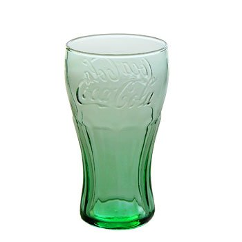 Mini Genuine Coca-Cola Glass (6.25 oz. - made in USA) (Mini Coca Cola Glass)