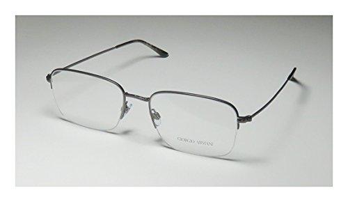 b56ac372b26 Giorgio Armani 5043 Mens Designer Half-rim Eyeglasses Eye Glasses (56-19-150