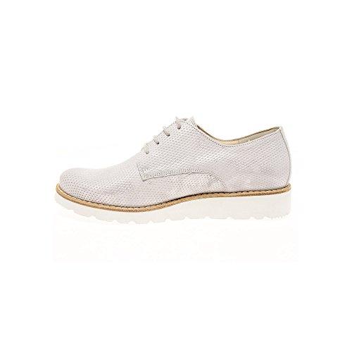 Scarpe Bianco donna Semler E8045 stringate Y1xqYZz