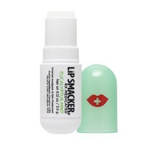 Kiss Therapy (Lip Smackers Kiss Therapy Medicated Lip Balm, Eucalyptus Mint, 1 Ounce)