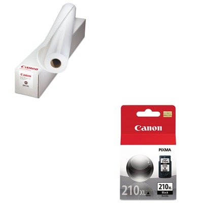 KITCNM0623V131CNM2973B001 - Value Kit - Canon Fine Art Enhanced Velvet Paper (CNM0623V131) and Canon 2973B001 PG-210XL High-Yield Ink ()