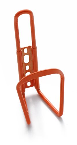 Retrospec Bicycles Aluminum Lightweight Bicycle Water Bottle Cage, Orange
