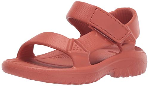 (Teva Unisex K Hurricane Drift Sport Sandal, Mango, 13 Medium US Little Kid)
