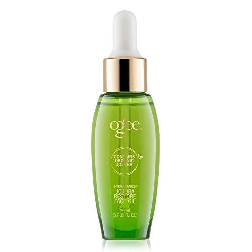 Ogee Jojoba Restore Face Oil – Organic & Natural, Moisturizing, Anti-Aging Facial Oil (20ml)