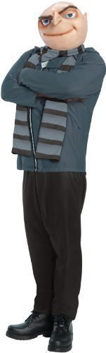 Official Licensed Adult Mens Mans Despicable Me GRU TV Film Fancy Dress Costume Outfit by Fancy Me -