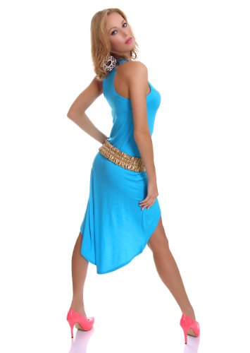 WeaModa - Vestido - para mujer turquesa