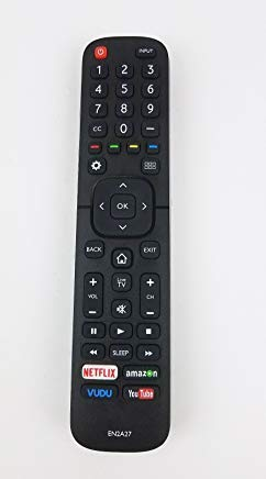 New Replacement Remote Control for Hisense 55H8C 55H6B 55H7B 55H6SG 50H7GB 55k2203 55H5C Ultra HD Smart LED TV