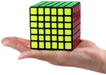 Cubelelo QiYi QiFan 6x6 Black Puzzle Rubiks Cube 6x6 Rubix Rubic Speed Cube