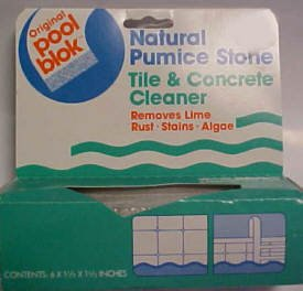 Pumie Pumice PB-80 Pool Blok Pool and Spa Cleaner - 6-1/2...