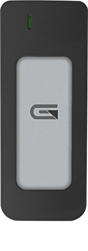 Glyph Atom Silver, 1TB SSD, USB-C (3.1, Gen 2), USB 3.0, Compatible with Thunderbolt 3