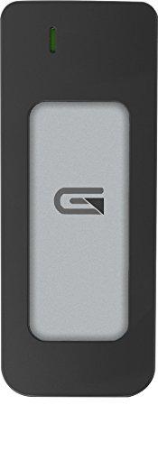 Glyph Atom Silver, 1TB SSD, USB-C (3.1, Gen 2), USB 3.0, Compatible with Thunderbolt 3
