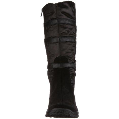 Legero - Botas de ante para mujer Negro