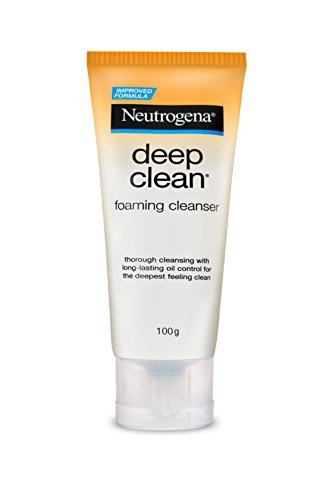 Deep Clean Foaming (Neutrogena Deep Clean Foaming Cleanser 100g)