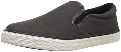 The Children's Place Boys' Slip Sneaker, BLACK02, Youth 1 Child US Little Kid by The Children's Place (Image #1)