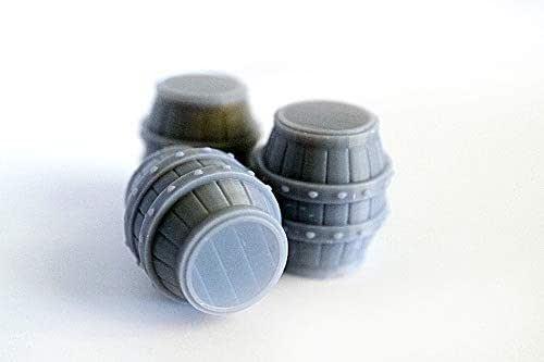 Barriles miniatura para juegos de rol, juegos de mesa y escenografía: Amazon.es: Handmade
