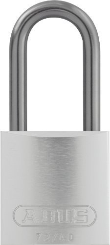 ABUS 72HB/40-40 KA Safety Lockout Aluminum Keyed Alike Padlock with 1-9/16-Inch shackle, Silver by ABUS