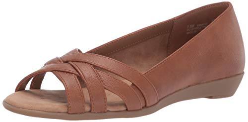 Aerosoles A2 Women's Fanatic Shoe, Dark Tan, 8 M US