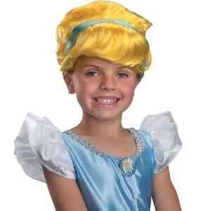 Cinderella Wig Child (Disney Princess Cinderella Halloween Wig)