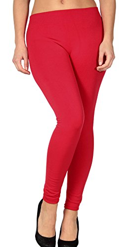 Women's Super Elastic & Slimming Lined Yoga Pants Fitted Cropped Fleece (Cropped Fleece Pant)