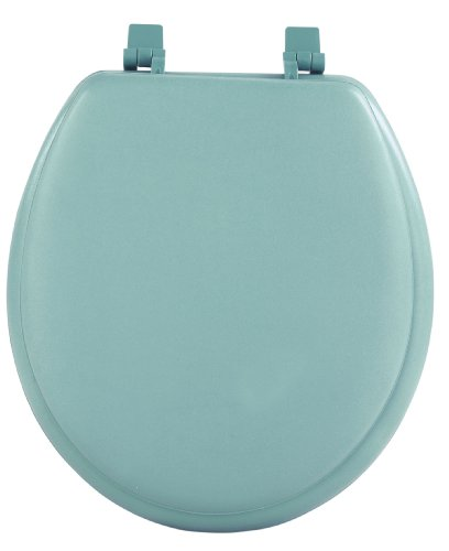 Achim Home Furnishings TOVYSTLG04 17-Inch Fantasia Standard Toilet Seat, Soft Light Green