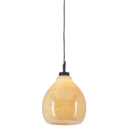 PLC Lighting 284 ORB 1 Light Mango Collection Mini Pendant, Oil Rubbed Bronze Finish