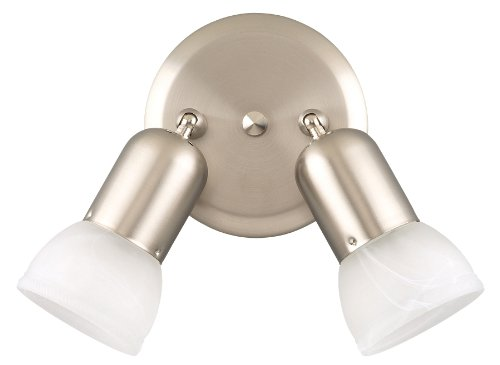 Dual Mount Spotlight - Canarm ICW92 BPT Jasper Double Head Directional Spot-Light