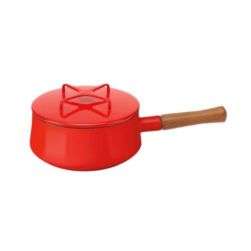 Dansk 834298 Kobenstyle Saucepan, 2-Quart, Chili Red