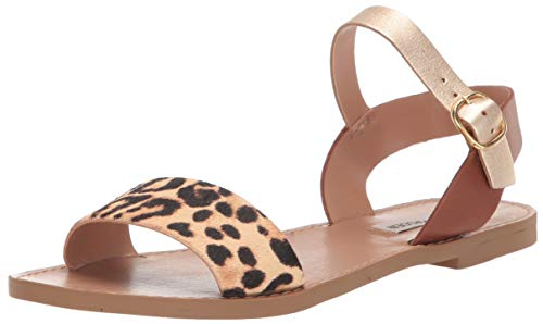 Steve Madden Women's DONDDI-A Sandal Animal 8.5 M US