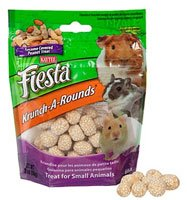 (Kaytee Krunch-A-Rounds with Peanut Center Treat for Small Animals (Rabbits, Guinea Pigs, Chinchillas, Hamsters, Gerbils, Mice and Rats), 2 Count)