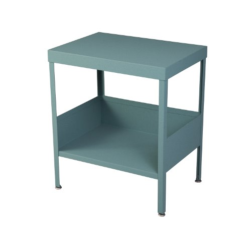 (RMP Mid Century Industrial Nightstand / End Table (Weathered Copper))