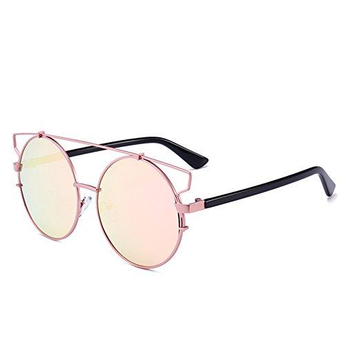 boîte lunettes 59mm soleil de manient de Les C 149 de NIFG grande 142 lunettes des de unisexes colorées soleil cadre rondes PazxqFv