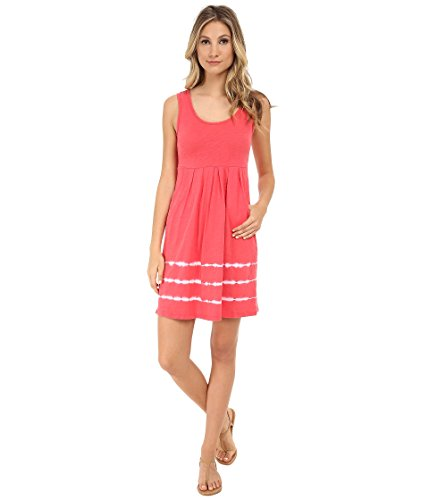 Mod-o-doc Women's Tie-Dye Stripe Tank Dress Tutti Frutti Dress XS (US 0-2)