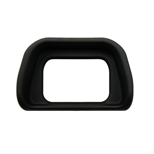 Foto&Tech Eyecup with Rubber Coated Plastic for Sony Alpha a6300 A6000 NEX-6 NEX-7 ILCE-6000 Digital Cameras & FDA-EV1S Electronic Viewfinder Replaces SONY FDA-EP10