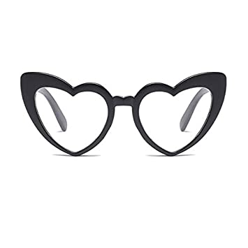 e7f69e97fd Autumn Water Love Heart Shaped Sunglasses Women cat Eye Vintage Black Pink  red Heart Shape Sun Glasses for Women  Amazon.ca  Home   Kitchen