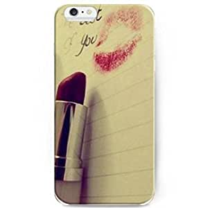 6733341M75128475 Hot Selling Fashion Red Lipstick Back Case Cover for Apple iPhone 6 4.7inch