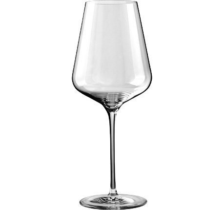 Könner Stemware Lead Free Crystal Wine Glasses, Bordeaux Wine Glasses, Burgundy Wine Glasses, Champagne Glasses, Good for Red Wine, White Wine (Bordeaux Wine Glass)