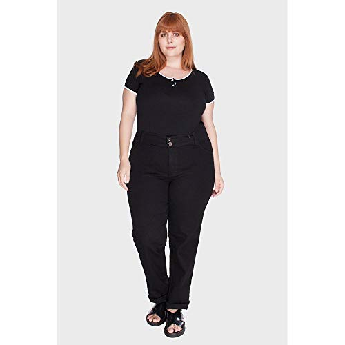 Calça Black Intenso Plus Size Preto-56