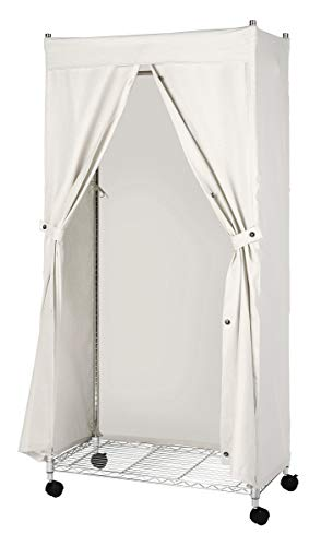 Whitmor Canvas COVER ONLY for Garment Rack (Dark Side Of The Moon White Vinyl Value)