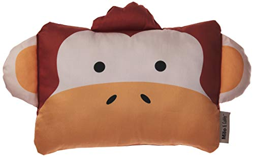 MILO & GABBY The Original Kids Animal, 100% Steen Cotton, 320 - Thread count, Zippered Closure Pillow cover, 10 x 13 inches, Mike