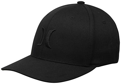 Hurley One & Only Men's Hat, Black, L-XL ()