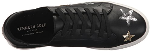Kenneth Cole New York Femmes Kam 11 Étoiles Patches Mode Sneaker Noir