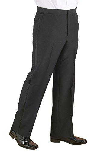 Flat Front Tuxedo (Neil Allyn Flat Front, Comfort Waist Tuxedo Pants-32)