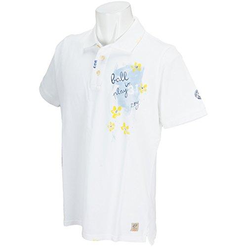 ポロシャツ メンズ ゾーイ×ボブ ZOY×BOB 2018 春夏 ゴルフウェア M(1001) ホワイト(0000) 71482012